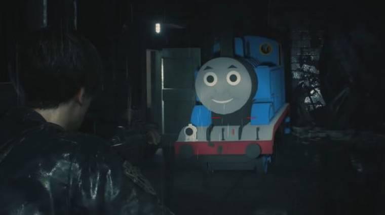 Resident Evil 2 - itt a Thomas, a gőzmozdony mod, meneküljetek! bevezetőkép