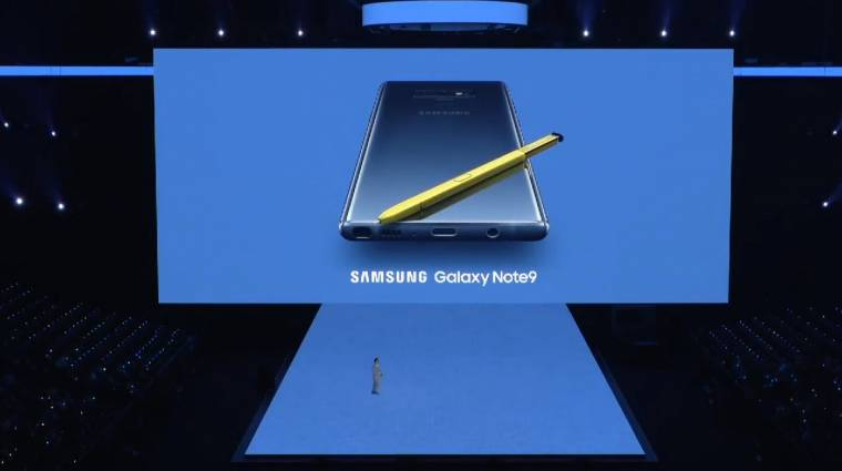 Megérkezett a Samsung Galaxy Note 9 és azt hozta, amit vártunk kép