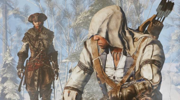 Tényleg jön Switchre az Assassin's Creed III: Remastered, hozza a Liberationt is bevezetőkép