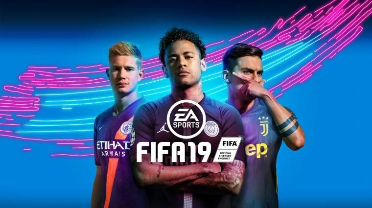 FIFA 19 - levették Cristiano Ronaldót a borítóról bevezetőkép