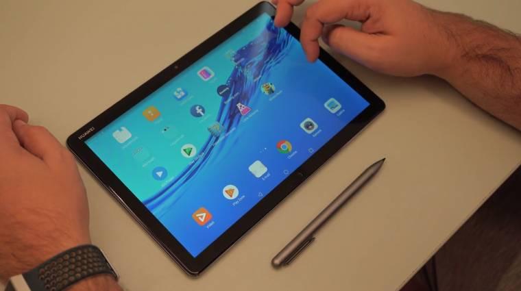 Ezért vannak még tabletek: Huawei MediaPad M5 lite teszt kép