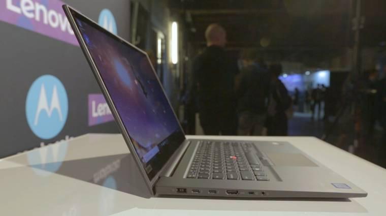 Videón a legerősebb ThinkPad X1 Extreme és társai kép