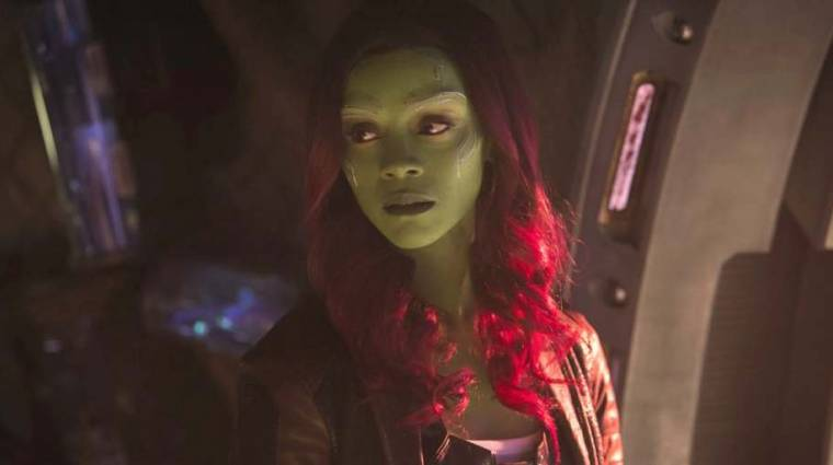 Zoe Saldana örülne, ha Gamora gonoszként térne vissza A galaxis őrzői 3-ban kép