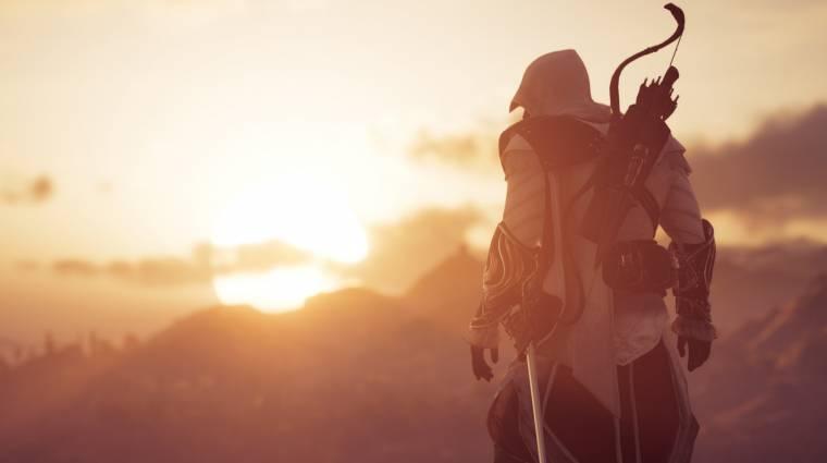 Az Assassin's Creed Odyssey hamarosan Eziová varázsol minket bevezetőkép