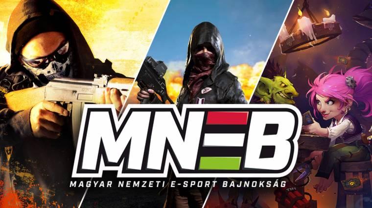 Kőkemény harcokkal folytatódik a Magyar Nemzeti E-sport Bajnokság bevezetőkép