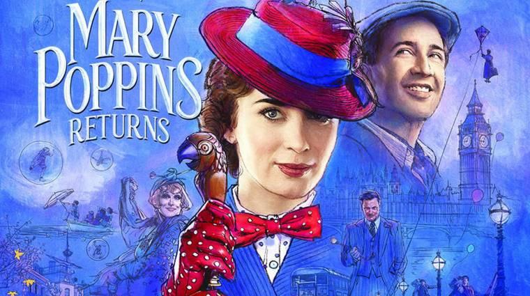 Szinkronos előzetesen a Mary Poppins visszatér kép