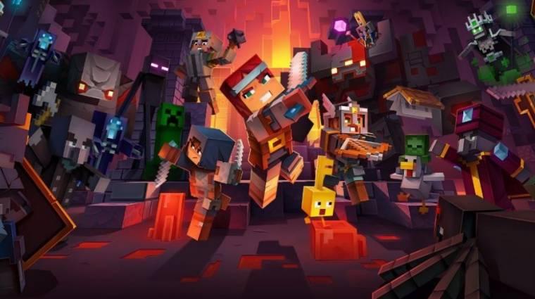 Minecraft Dungeons - belenézhetünk a játékmenetbe bevezetőkép