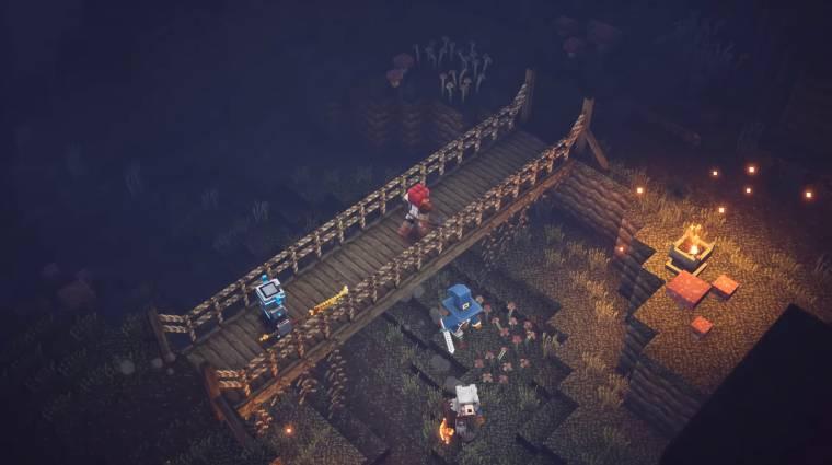Minecraft Dungeons megjelenés - megvan, mikor jön a minecraftos Diablo bevezetőkép