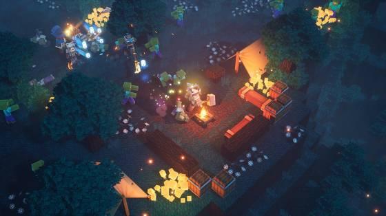 Minecraft Dungeons infódoboz