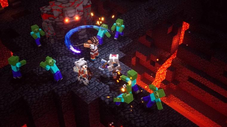 A Minecraft Dungeons DLC-kkel és cross-play funkcióval bővül bevezetőkép