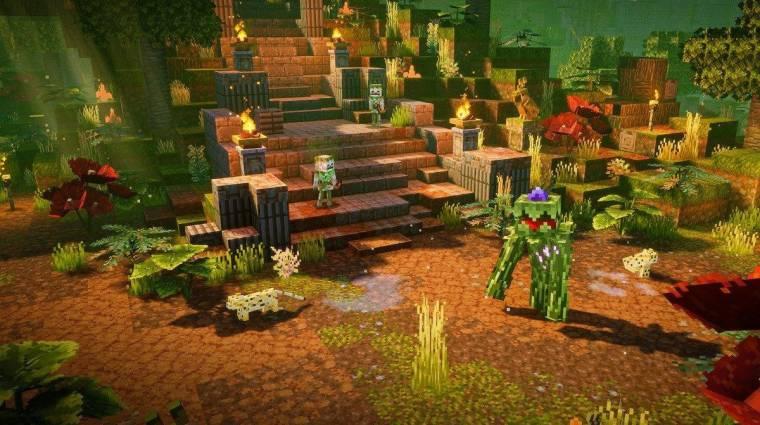 Jó oka volt annak, hogy a Minecraft Dungeons a semmiből tört a csúcsra bevezetőkép