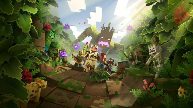 A Minecraft Dungeons már a héten új területre utaztat minket bevezetőkép
