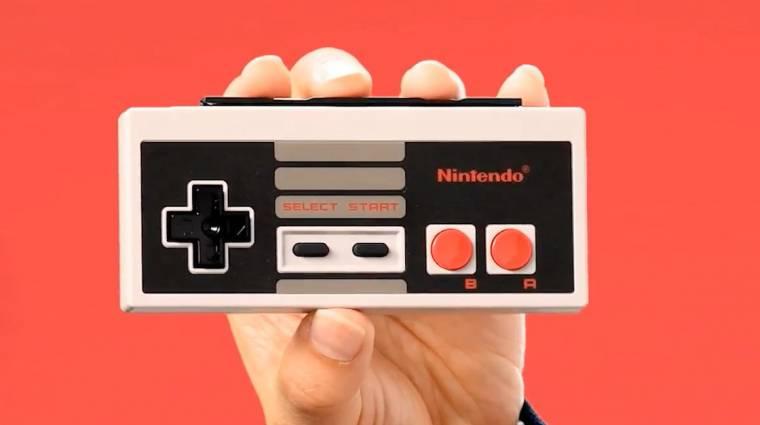 Nintendo Switch - hamarosan klasszikus NES kontrollerekkel is tolhatjuk bevezetőkép