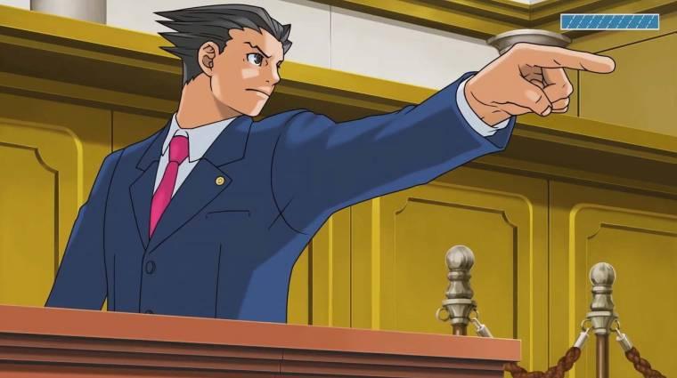 Phoenix Wright: Ace Attorney Trilogy - modern platformokra jön az első három játék bevezetőkép