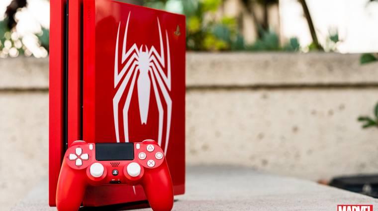 Spider-Man - egy csokornyi új képet kaptunk a tematikus PlayStation 4 Pro konzolról bevezetőkép