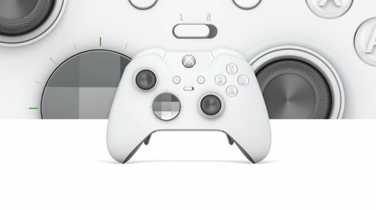 Fehérben pompázik az új Xbox One Elite kontroller bevezetőkép