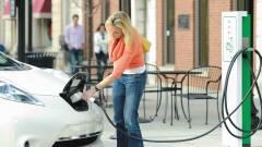 A jövőbe vezető út elektromos autókkal van kikövezve kép