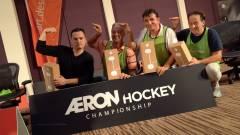 A VISZ csapata nyerte az első Aeron Hockey bajnokságot kép