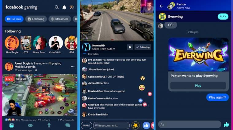 A Facebook már egy appal is felzárkózna a Twitchhez bevezetőkép
