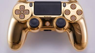Kisebb vagyonba kerül az aranybevonatú DualShock 4 kontroller