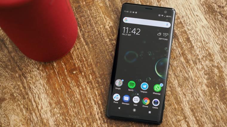 A sok hiba miatt leállt a Sony Xperia XZ2 és XZ3 Android 10-es frissítése kép