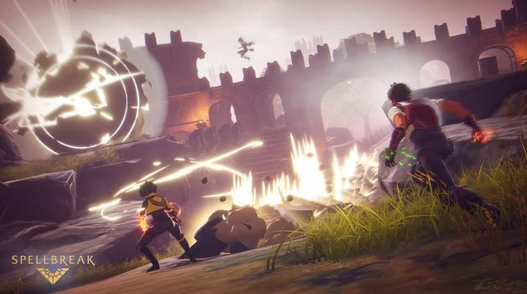Jövőre PlayStation 4-re is ellátogat a mágikus battle royale, a Spellbreak bevezetőkép