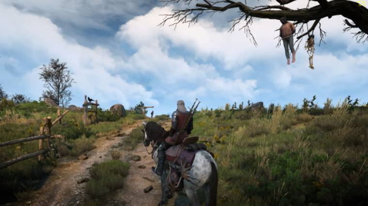 The Witcher 3 - az égboltot teszi még gyönyörűbbé az egyik új mod bevezetőkép
