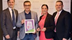 A Legjobb Ügyfélélmény Projekt Díj nyertese a Magyar Telekom kép