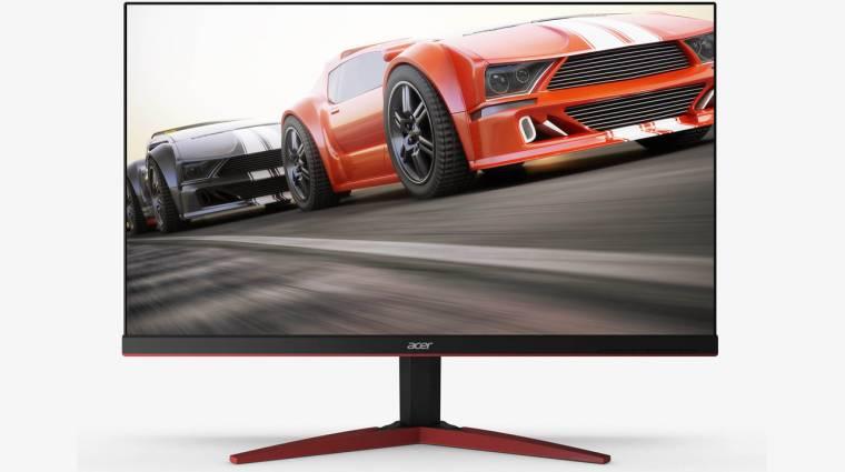 Hipergyors Acer monitorok érkeznek játékosoknak kép