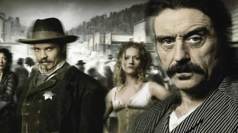 Elkezdődött az HBO Deadwood filmjének forgatása kép