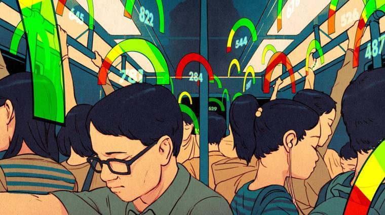 Kínában már valósággá vált a Black Mirror víziója kép