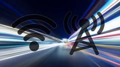 A mobilnet helyenként már lekörözi a Wi-Fit kép