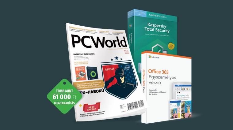 1 TB tárhely és további 12 ok a PC World előfizetés mellett kép