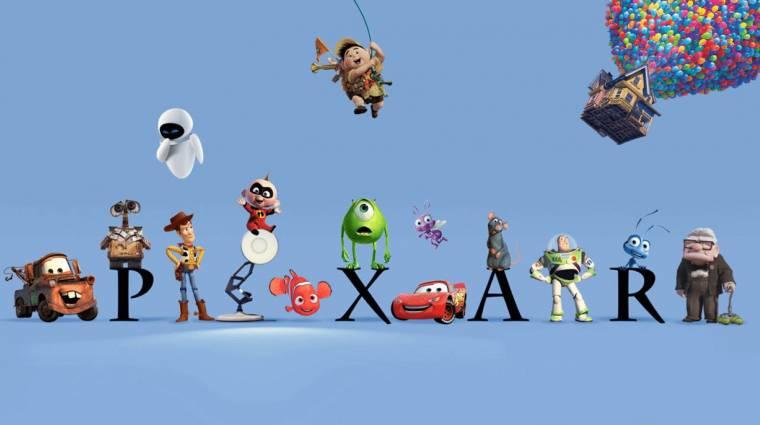 Top 10 - a tíz legjobb Pixar animációs film kép