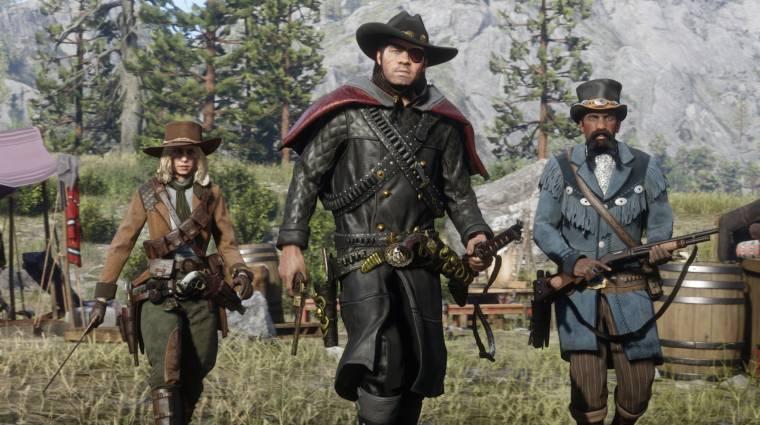 Szinte játszhatatlanná tette a Red Dead Online-t a legutóbbi frissítés bevezetőkép