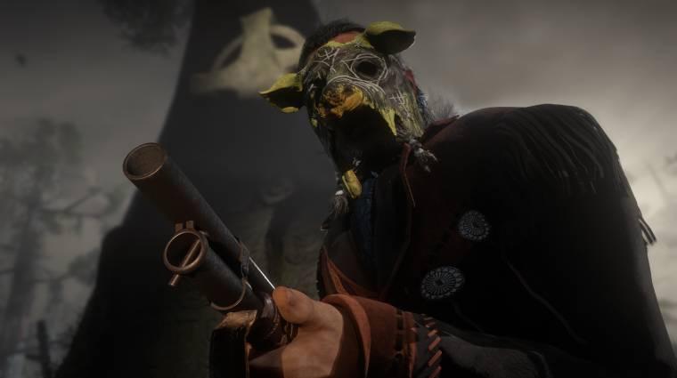 Red Dead Online - maszkokkal készülünk a halloweenre bevezetőkép