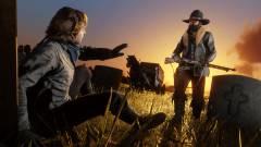 Ennél stílusosabban talán még senki nem mentette meg társát a Red Dead Online-ban kép