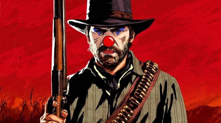 A Red Dead Online játékosai bohócruhával jelzik a Rockstar felé, hogy ideje új tartalmakat adni bevezetőkép