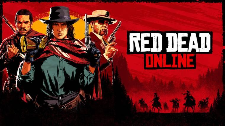 Önálló játékként, fillérekért lesz elérhető a Red Dead Online bevezetőkép