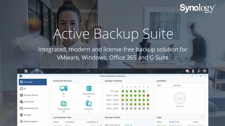 Szolgáltatások szünet nélkül: Synology Active Backup for Business kép