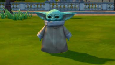 Bébi Yoda a The Sims 4-et is meghódította