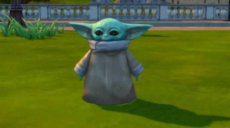 Bébi Yoda a The Sims 4-et is meghódította bevezetőkép