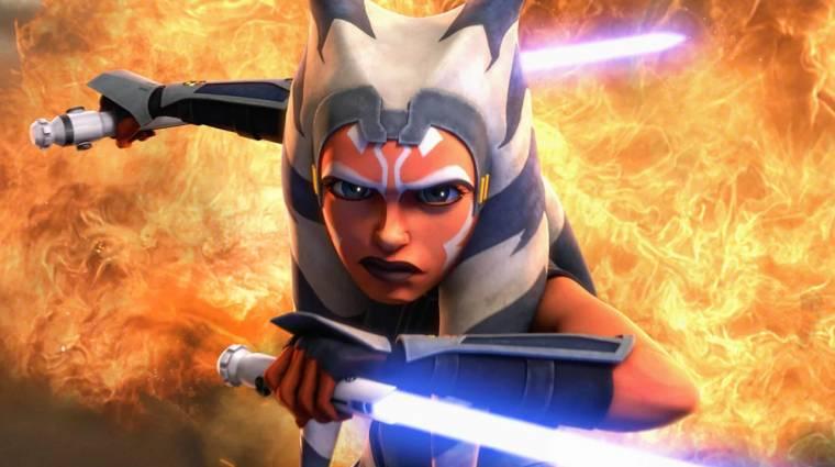 Egy Ahsoka sorozatról szólnak a legfrissebb Star Wars pletykák bevezetőkép