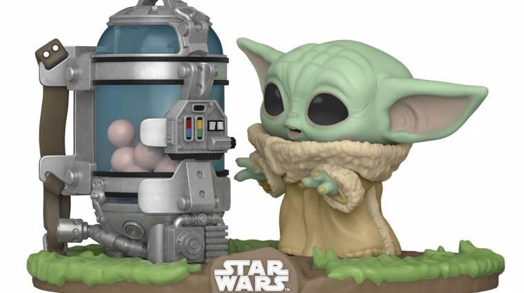 Az új Baby Yoda Funko Pop! nem fog osztatlan sikert aratni bevezetőkép