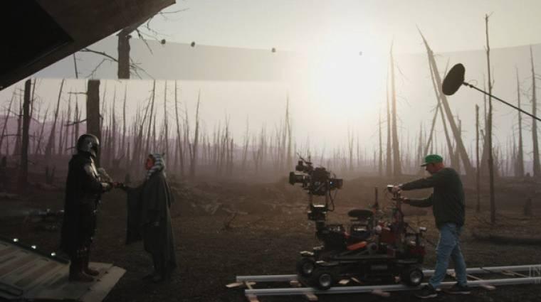 Az Epic Gamesnek és az Nvidiának is köszönhetjük a The Mandalorian ütős látványvilágát bevezetőkép