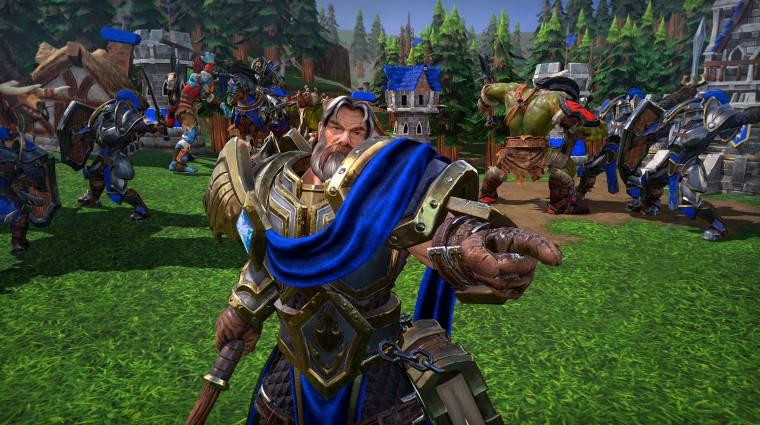 Ezért lett silány a Warcraft III: Reforged bevezetőkép