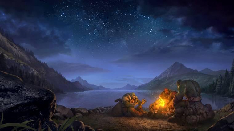 A Warcraft 3 egyik legfontosabb elemére technikai akadályok miatt volt szükség bevezetőkép