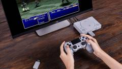 PlayStation Classic - egy új adapter segítségével akár egy PS4-es kontrollerrel is használhatjuk a gépet kép