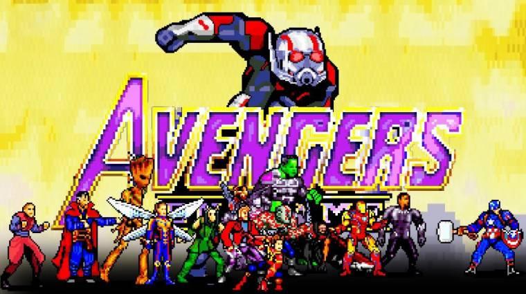 16-bites verzióban is lezárult a Bosszúállók: Végjáték utolsó nagy csatája bevezetőkép