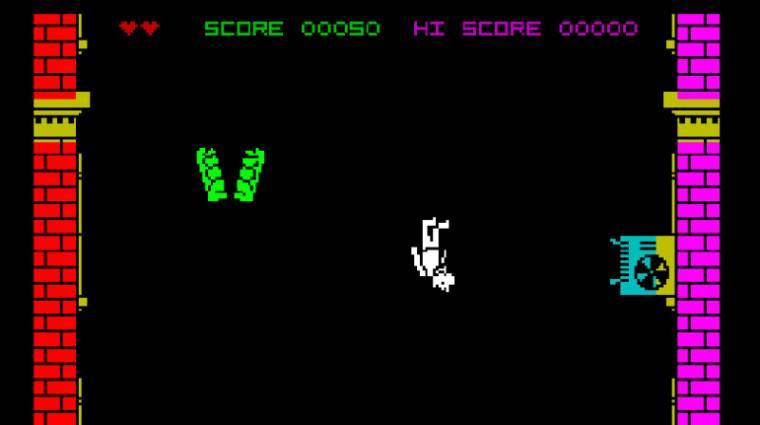 Black Mirror: Bandersnatch - játszható az egyik, a filmben látott játék bevezetőkép